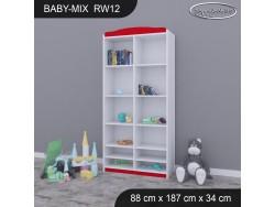 REGAŁ WYSOKI BABY MIX RW12