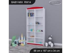 REGAŁ WYSOKI BABY MIX RW14