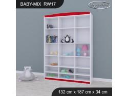 REGAŁ WYSOKI BABY MIX RW17