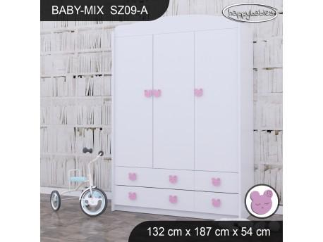 SZAFA BABY MIX SZ09-A WHITE