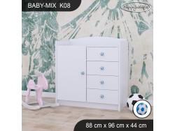 KOMODA BABY MIX K08 WHITE