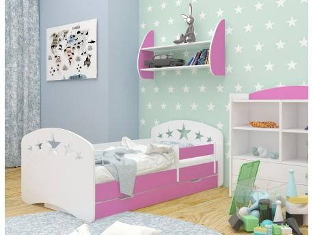 łóżko Dziecięce Happy Design Z Szufladą L08 19090 Gwiazdki