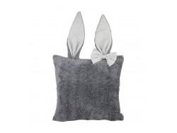Poduszka ozdobna z uszkami królika PK02