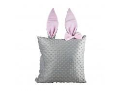 Poduszka ozdobna z uszkami królika PK08