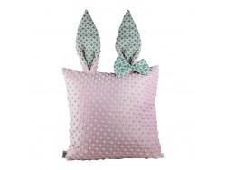 Poduszka ozdobna z uszkami królika PK09