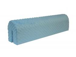 Ochraniacz piankowy na barierkę 75 cm - niebieski jasny