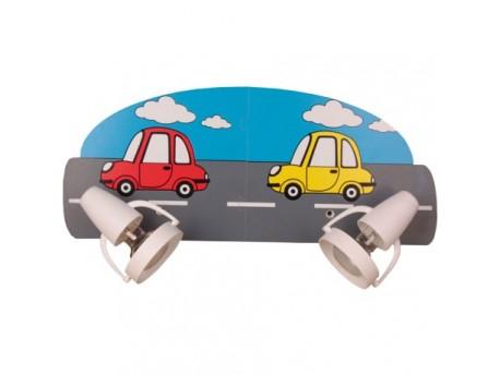 Lampa dziecięca Samochodziki 522.32.08