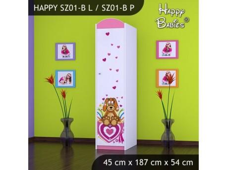SZAFA HAPPY SZ01-B KUNDELEK I SERCA