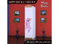 SZAFA HAPPY SZ01-B KSIĘŻNICZKA I JEDNOROŻEC