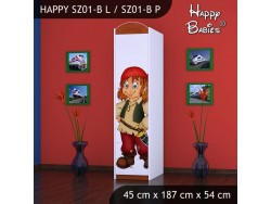 SZAFA HAPPY SZ01-B PIRAT