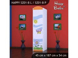 SZAFA HAPPY SZ01-B KWIATEK I MOTYL