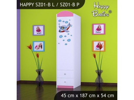 SZAFA HAPPY SZ01-B SAMOLOT