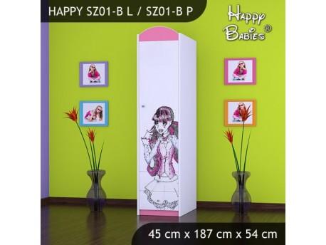 SZAFA HAPPY SZ01-B MONSTER TORALEI