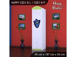 SZAFA HAPPY SZ01-B POLICJA