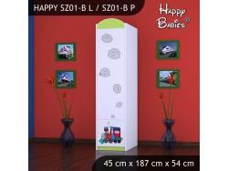SZAFA HAPPY SZ01-B SUPER LOKOMOTYWA