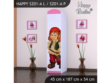 SZAFA HAPPY SZ01-A PIRAT