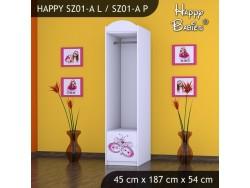 SZAFA HAPPY SZ01-A MOTYLEK