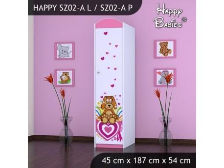 SZAFA HAPPY SZ02-A KUNDELEK I SERCA