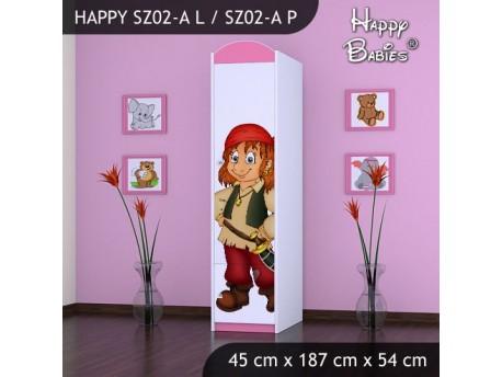 SZAFA HAPPY SZ02-A PIRAT