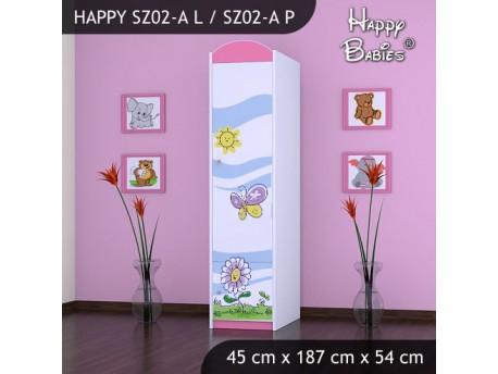 SZAFA HAPPY SZ02-A KWIATEK I MOTYL