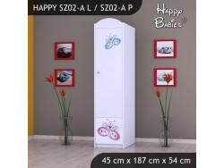SZAFA HAPPY SZ02-A MOTYLEK