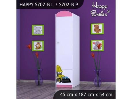 SZAFA HAPPY SZ02-B KOPARKA