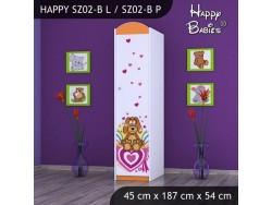 SZAFA HAPPY SZ02-B KUNDELEK I SERCA