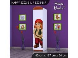 SZAFA HAPPY SZ02-B PIRAT