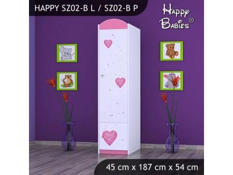 SZAFA HAPPY SZ02-B KSIĘŻNICZKA Z SERCEM