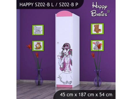 SZAFA HAPPY SZ02-B MONSTER TORALEI