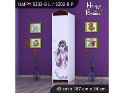 SZAFA HAPPY SZ02-B MONSTER TORALEI