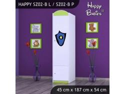 SZAFA HAPPY SZ02-B POLICJA