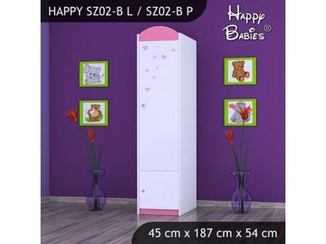 SZAFA HAPPY SZ02-B ZAKOCHANE KRÓLICZKI
