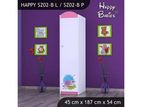 SZAFA HAPPY SZ02-B ŚLIMAK
