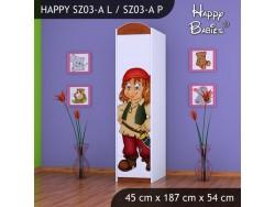 SZAFA HAPPY SZ03-A PIRAT