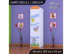 SZAFA HAPPY SZ03-A KWIATEK I MOTYL