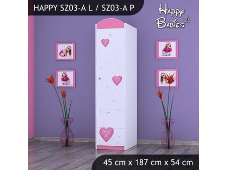 SZAFA HAPPY SZ03-A KSIĘŻNICZKA Z SERCEM