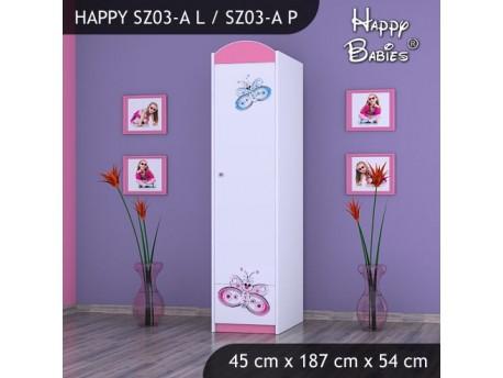 SZAFA HAPPY SZ03-A MOTYLEK