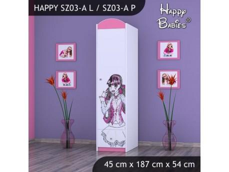 SZAFA HAPPY SZ03-A MONSTER TORALEI