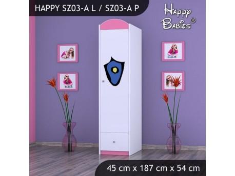 SZAFA HAPPY SZ03-A POLICJA