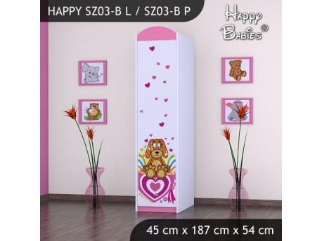 SZAFA HAPPY SZ03-B KUNDELEK I SERCA