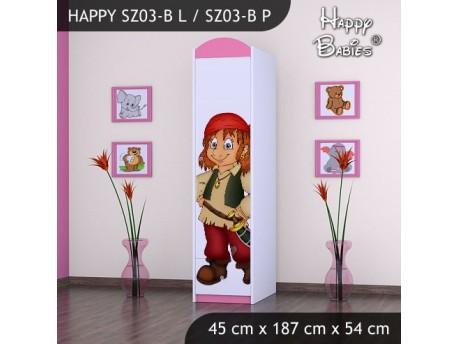 SZAFA HAPPY SZ03-B PIRAT