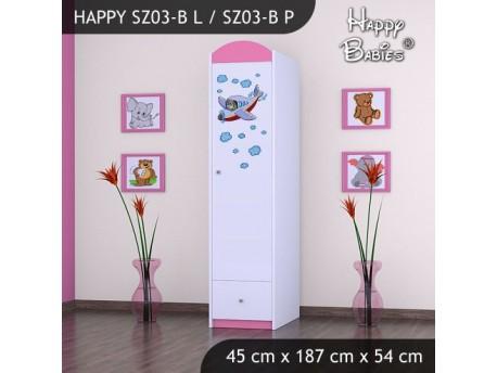 SZAFA HAPPY SZ03-B SAMOLOT