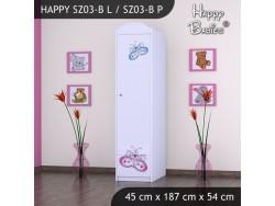 SZAFA HAPPY SZ03-B MOTYLEK
