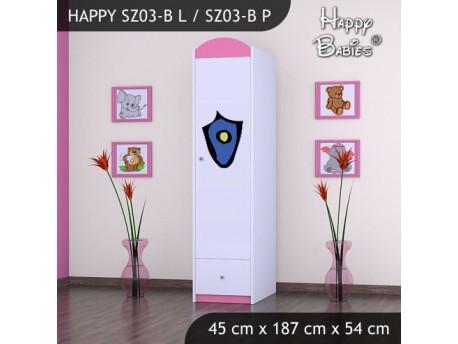 SZAFA HAPPY SZ03-B POLICJA