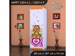 SZAFA HAPPY SZ04-A KUNDELEK I SERCA