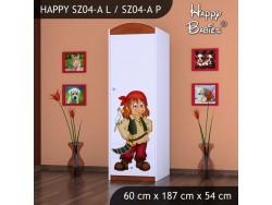 SZAFA HAPPY SZ04-A PIRAT