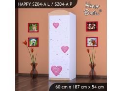 SZAFA HAPPY SZ04-A KSIĘŻNICZKA Z SERCEM