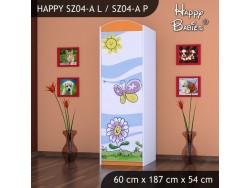 SZAFA HAPPY SZ04-A KWIATEK I MOTYL