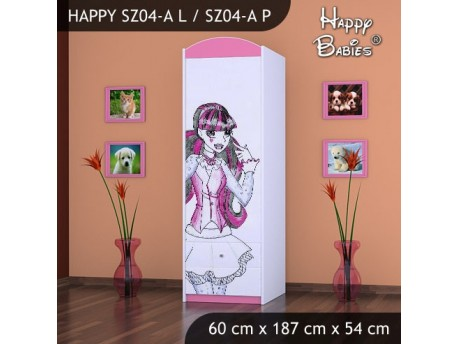 SZAFA HAPPY SZ04-A MONSTER TORALEI